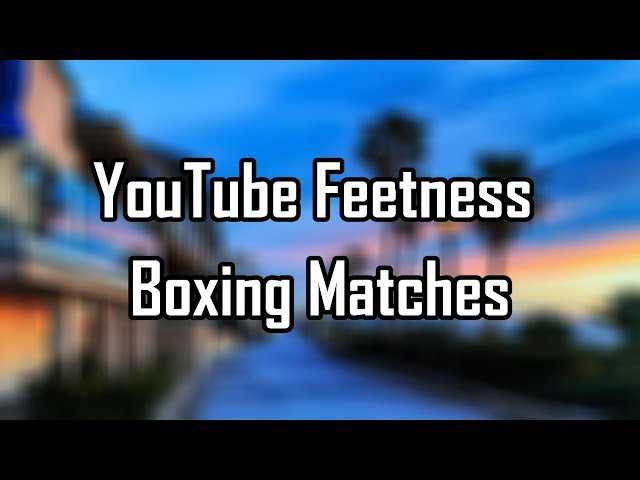 YouTube Fitness Boxing Matches