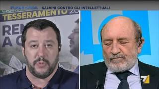 Fuori Onda - Salvini contro gli intellettuali (Puntata 28/02/2016)