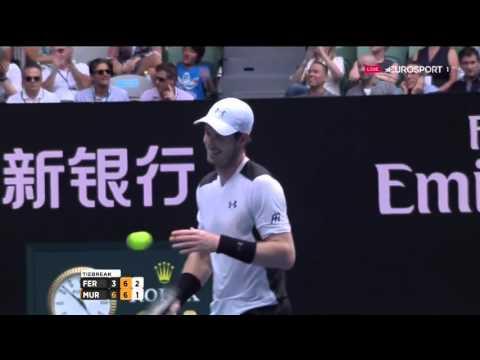 Murray Vs Ferrer Australian Open 2016