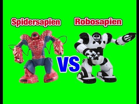 WowWee Robosapien VS Spidersapien Robot