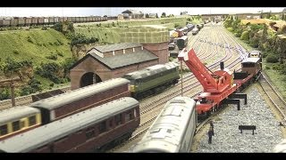 North East model railway - Breakdown Train 2
