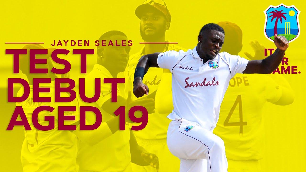 Test Debutant Aged 19!   Jayden Seales on his debut vs South Africa