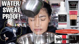 COVERGIRL OUTLAST ACTIVE LINE PUT TO THE TEST! | THE BEST SWEAT PROOF PRODUCTS 😧 - ALEXISJAYDA