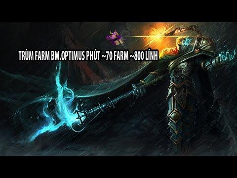 Kỷ lục farm mới của LOL VN mang tên BM.Optimus [Stream ngày 18/2]