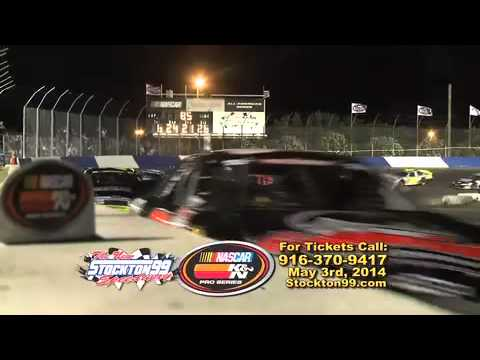 May 3rd 2014 Nascar K&N Pro Series West Stockton 99 Speedway