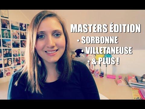 Masters Édition (Sorbonne, Villetaneuse & Autres ) | Fairy Neverland