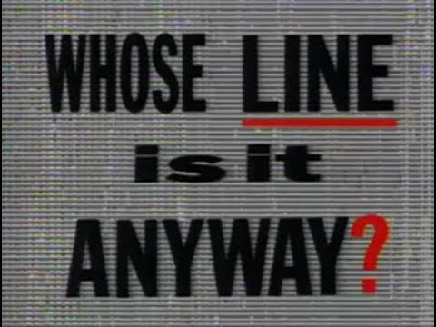 Whose Line Is It Anyway UK S03E01