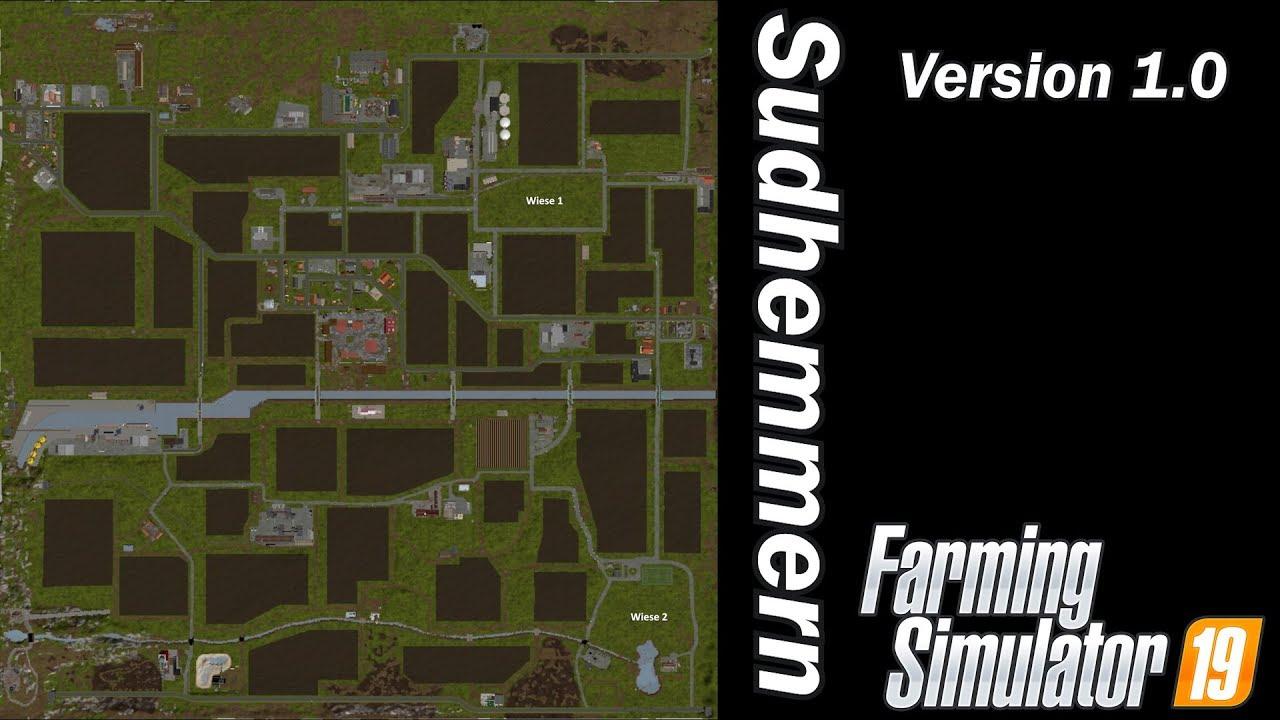Sudhemmern - Map First Impression - Farming Simulator 19 by Farmer Klein