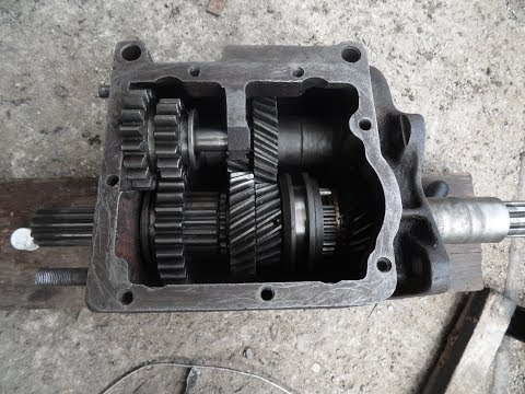 Ремонт КПП УАЗ Буханка (снятие, ремонт, установка)