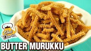 Butter Murukku Recipe | How To Make Butter Chakli | Crunchy Snack Recipe | Chai Diaries with Varun