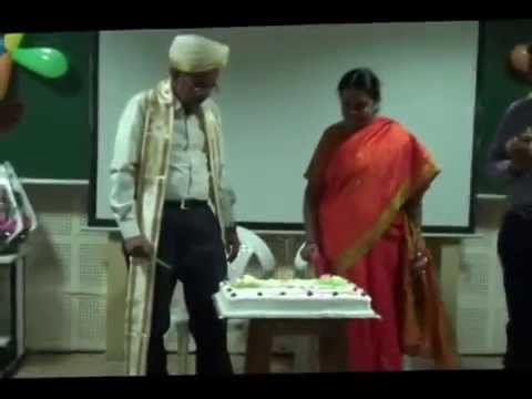 University of Hyderabad, Prof. C S Sunandana felicitation - part - 2