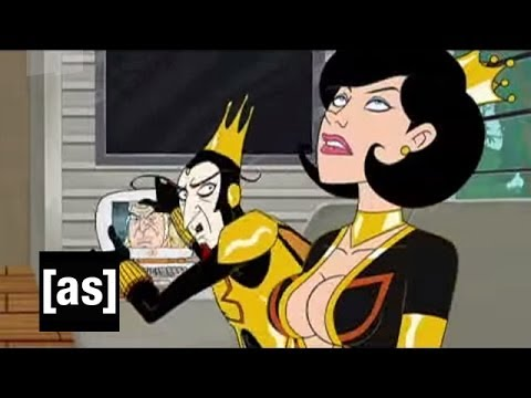 With A Knife! | The Venture Bros. | Adult Swim