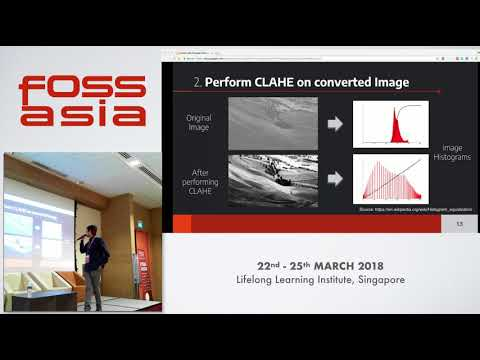 Reducing the effect of turbidity in underwater images - FOSSASIA 2018