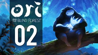 Ori And The Blind Forest - Gameplay Part 2 - Wall Jump (Let