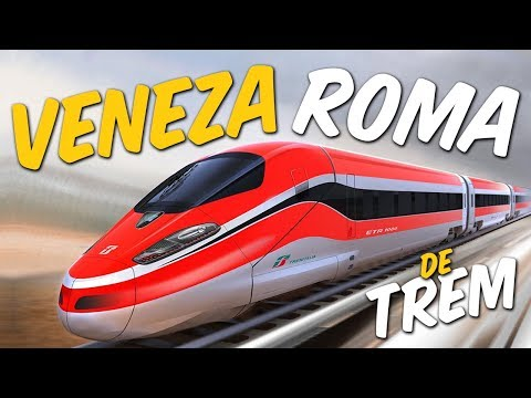 Veneza a Roma - Trem Italo - Termini - Metrô - Mercure Roma West (com minutagem) - Itália 4