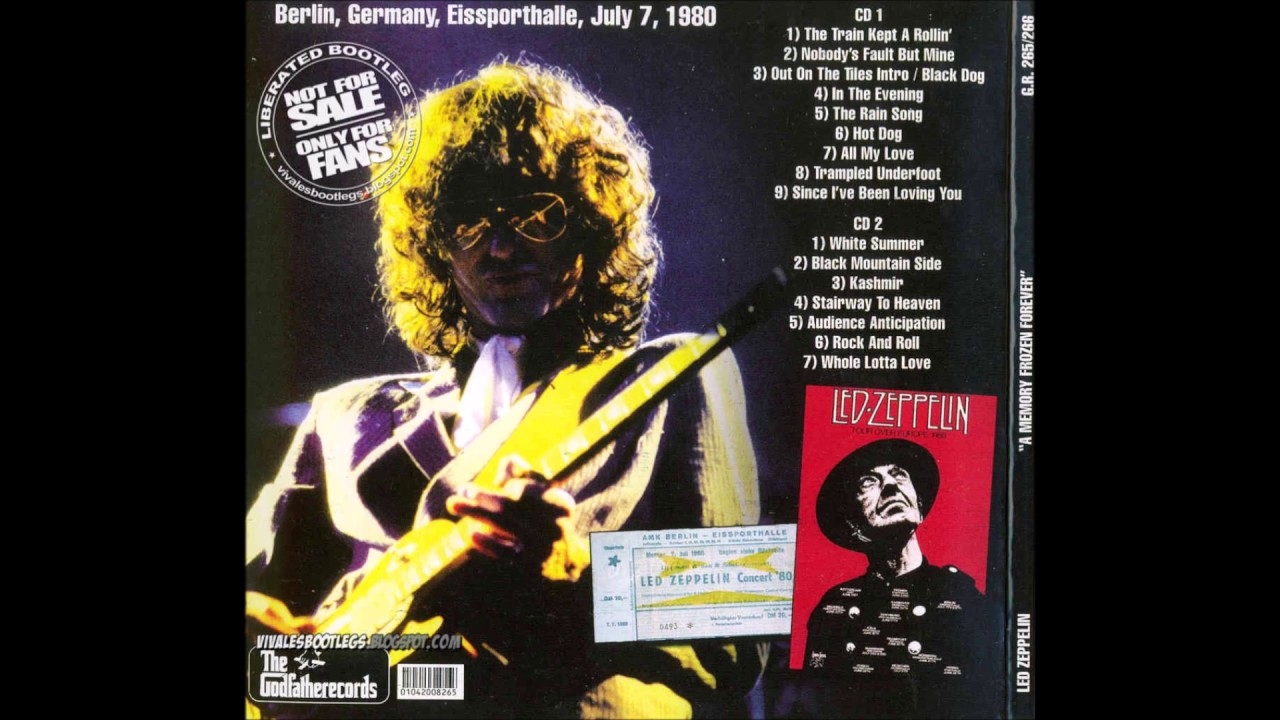 Led Zeppelin: Berlin, Germany