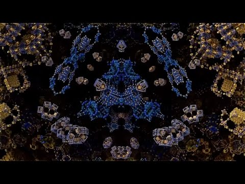Amazing 3D Fractal Compilation + 4D with Jazzy Groove House Mix