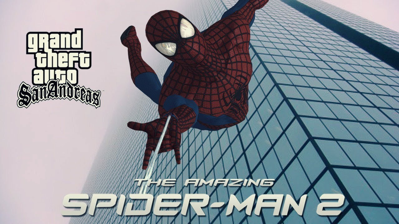 How to install The Amazing Spider Man mod for GTA SA by BeastMaster64
