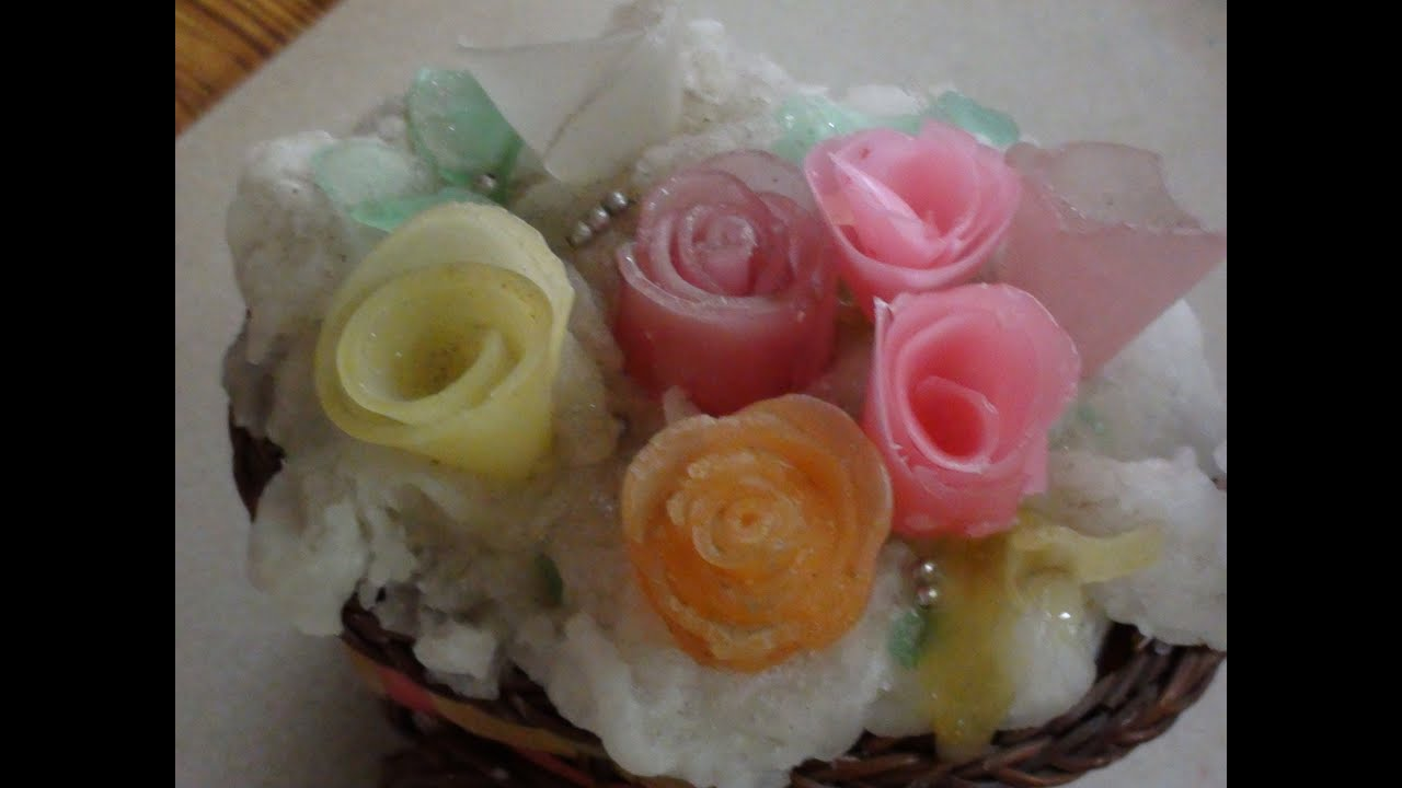 How to make wax roses - YouTube
