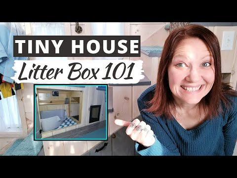TINY HOUSE LITTER BOX 101 Creative Storage For Tiny House Litter Boxes