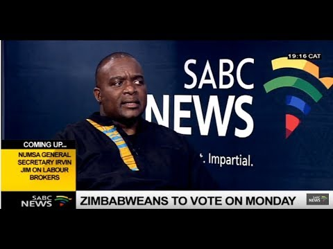 Politics in Zimbabwe ahead of polls: Bryan Kagoro