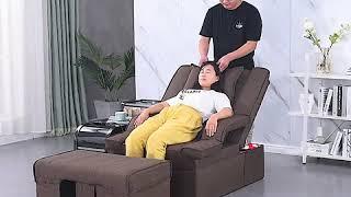 938 마사지용품 자동높이조절마사지침대 의자