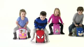 Vrum Kid's Luggage And Ride On Toy Box | Wicked Cool Toys