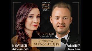 Vladimir ISAEV - Lucile VERBIZIER - Poulenc Voyage à Paris / Tchaïkovski Romance de Pauline /Teaser