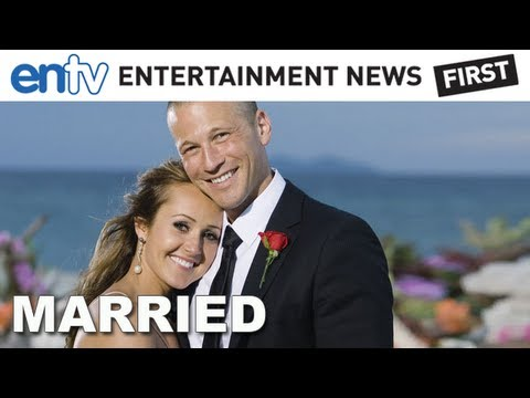 Ashley Hebert and JP Rosenbaum Get Married! ENTV