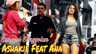 Download lagu Senggol Senggolan Panas beb Ashakie menari feat dengan Ana from Romania