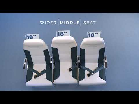 A New Airplane Seat Design Promises to End Middle-Seat Misery