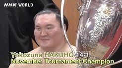Recap: The November 2019 GRAND SUMO Tournament - GRAND SUMO