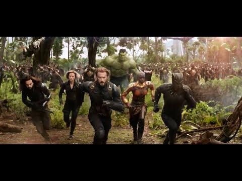 Avengers: Infinity War (Battle for Wakanda extended trailer fight scene) thumbnail