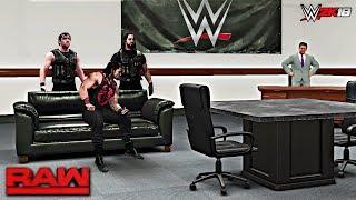 WWE 2K18 Custom Story - Roman Reigns Returns Raw 2017 ft. Zombies, Cena, Strowman, Taker - PART 5