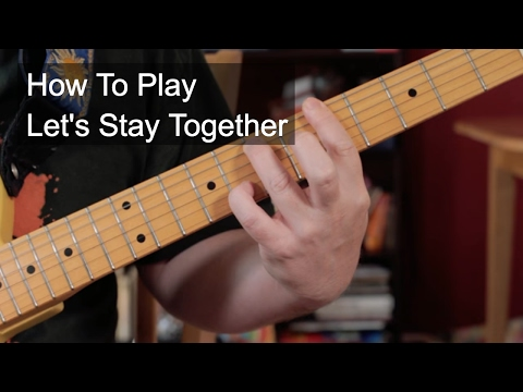 'Let's Stay Together' Al Green Guitar Lesson