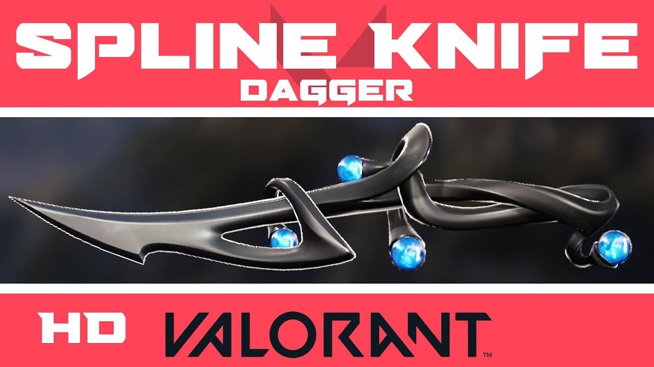 Spline Knife   VALORANT Melee Skin (Dagger)   Skins HD Showcase