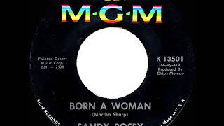1966 HITS ARCHIVE: Born A Woman - Sandy Posey