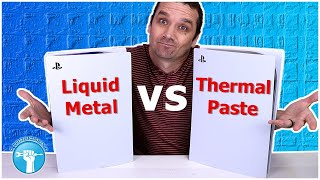 PS5 Liquid Metal vs Thermal Paste - It OVERHEATED!