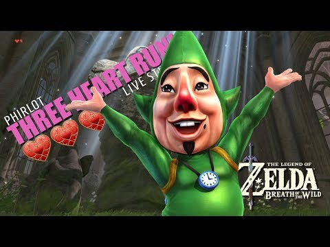 🔴 I FEEL A TINGLE! Three Heart Run in The Legend of Zelda Breath of the Wild Live Stream
