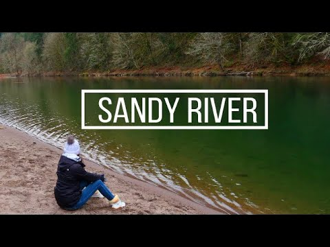 Steelhead Fishinng--Sandy River--Oxbow Park