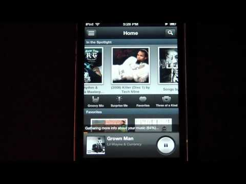 Groove 2 Music Player App Review for iPhone and iPod Touch