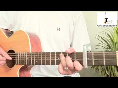 Kyun Re  (TE3N) guitar lesson | www.tamsguitar.com