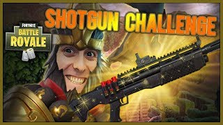 HVORDAN VINNE MED KUN SHOTGUN - Fortnite Battle Royale