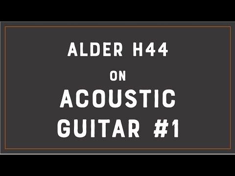 ALDER H44  Acoustic Guitar Demo