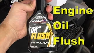 Guide How to use an oil flush in your engine