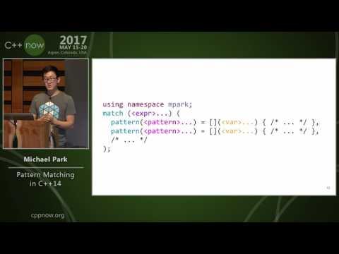 C++Now 2017: Michael