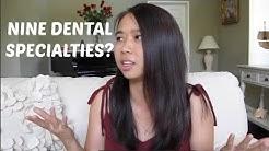 The Nine Dental Specialties || Brittany Goes to Dental School