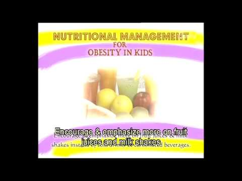 Nutritional Management For Kids Obesity | Yoga Tutorial in French
