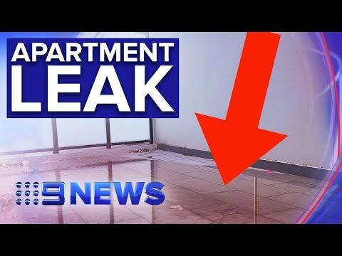 Leaking Sewage Forces Residents From Sydney Unit Block   Nine News Australia