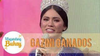 Miss Universe Philippines 2019 Gazini Ganados gets emotional | Magandang Buhay